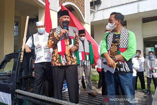 Puluhan ormas di Sumbar gelar aksi solidaritas Palestina