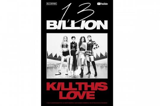 """Kill This Love"" BLACKPINK tembus 1,3 miliar view di YouTube"