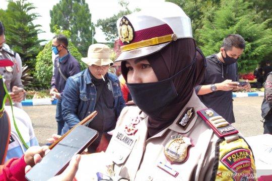 Dua orang pengendara sepeda motor meninggal di jalur utama Cianjur
