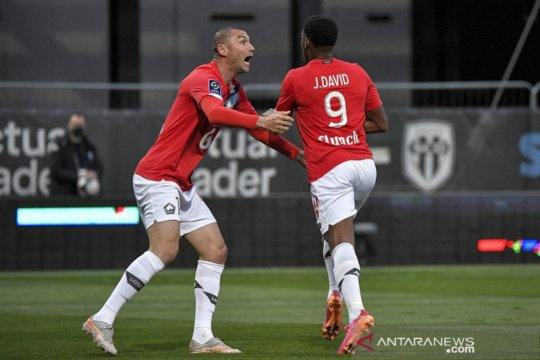 Lille juarai Liga Prancis seusai tundukkan Angers