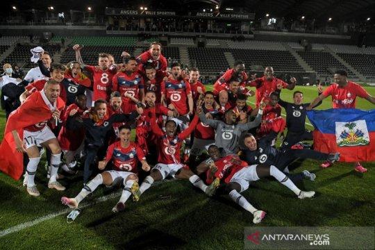 Daftar juara Liga Prancis: Lille hentikan dominasi PSG