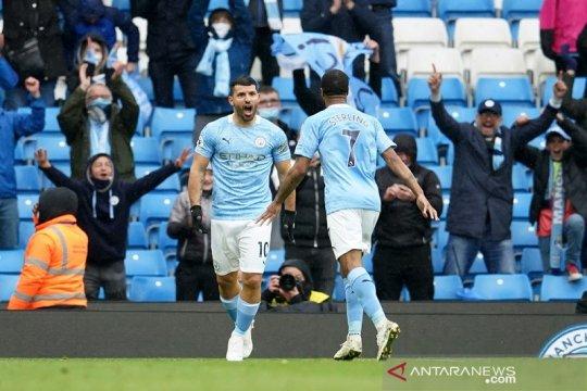 Manchester City cukur Everton 5-0 sebelum angkat trofi Liga Inggris