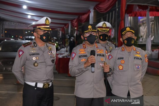 Dirlantas: Tidak ada polisi terinfeksi COVID-19 selama Operasi Ketupat