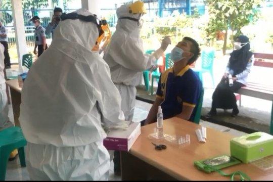 Jumlah kasus COVID-19 di Lapas Rajabasa Bandarlampung bertambah 55