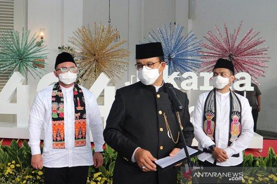 HUT ke-494 DKI, Anies harap Jakarta segera bangkit