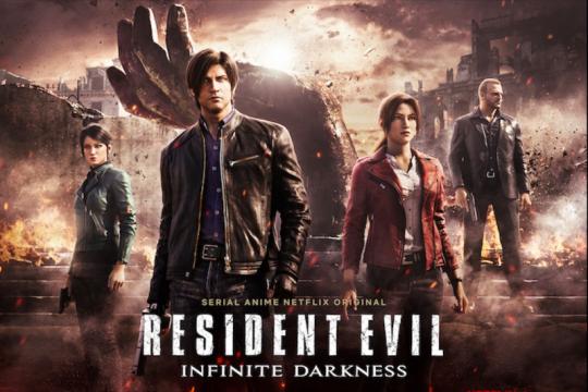 """Mengenal karakter dalam """"Resident Evil: Infinite Darkness"""""""