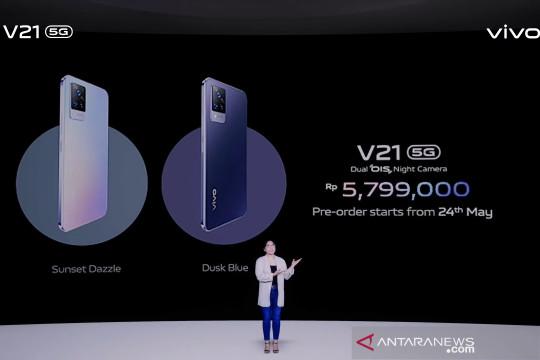 Vivo luncurkan V21 5G, ponsel dengan teknologi Dual OIS Night Camera