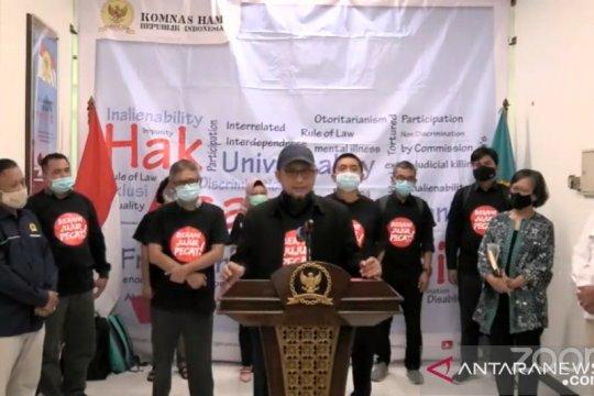 Novel Baswedan laporkan oknum pimpinan KPK ke Komnas HAM
