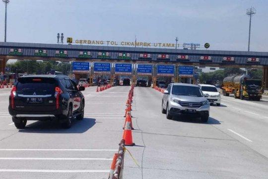 Jelang akhir pengetatan mudik,  427.309 kendaraan masuk ke Jabotabek