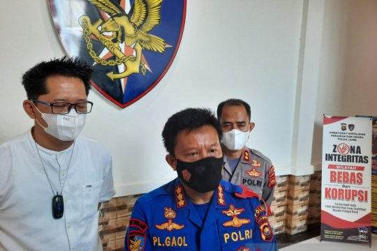 Ditpolairud Polda Jambi tetapkan nahkoda KM Wicly tersangka