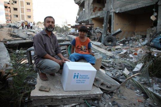 Human Initiative salurkan bantuan kemanusiaan di Jalur Gaza Palestina