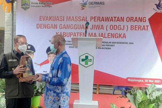 Pemkab Majalengka evakuasi 28 ODGJ ke RSMM Bogor