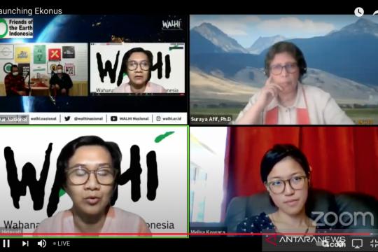 Walhi luncurkan buku tawarkan altenatif model Ekonomi Nusantara