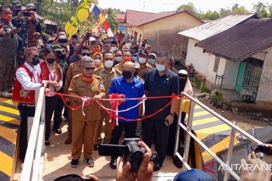 Bupati Kubu Raya: Jembatan gantung Pancaroba genjot potensi ekonomi