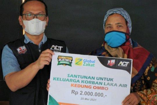 ACT salurkan bantuan untuk korban kecelakaan air di WKO