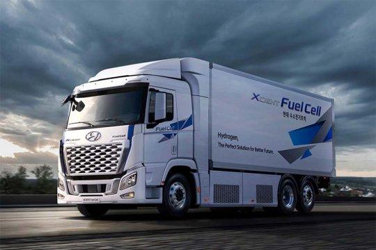 Hyundai perbarui XCIENT Fuel Cell, mampu tempuh 400 km