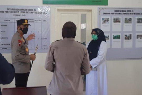 Kapolda Aceh sidak posko PPKM