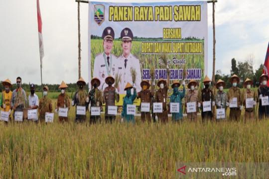 Kotabaru tingkatkan produksi padi dari 3,5 ton jadi 7 ton/ha