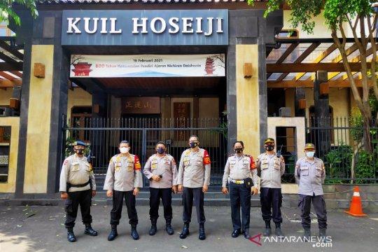 Polisi kerahkan 400 personel amankan Hari Raya Waisak di Jaksel