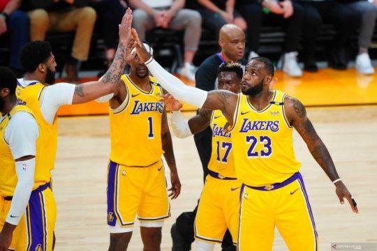 Playoff  NBA:  LA Lakers kalahkan Phoenix Suns