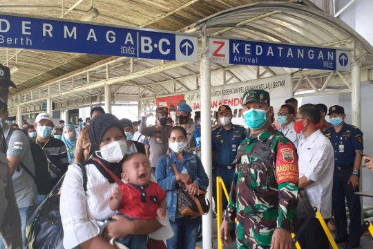 594 PMI masih jalani karantina di Batam