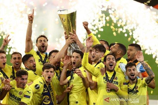 Daftar juara Liga Europa: Villarreal kini punya trofi bergengsi Eropa