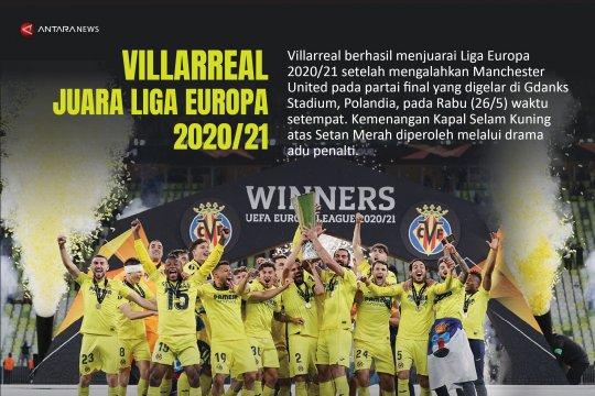 Villarreal juara Liga Europa 2020/21