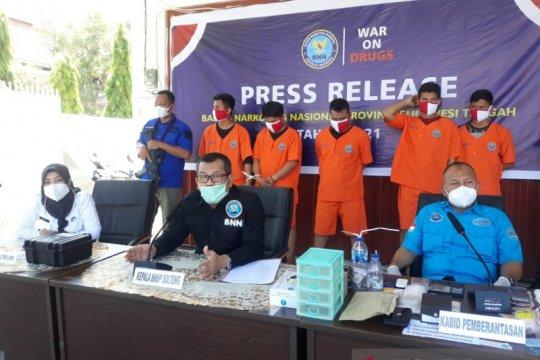 BNNP Sulteng menyatakan terus perangi peredaran narkoba