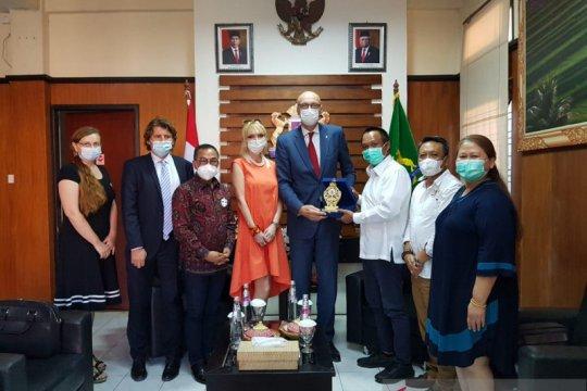 Ceko jajaki kerja sama bisnis dengan Kadin Bali