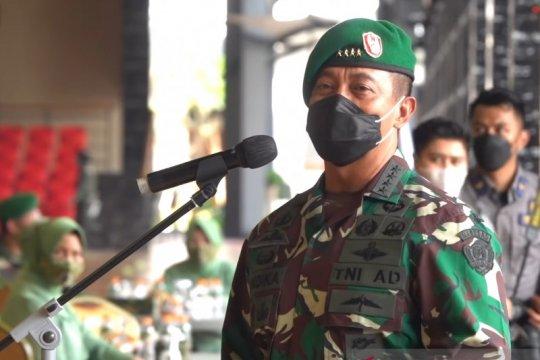 Kasad pimpin kenaikan pangkat 33 Pati TNI AD