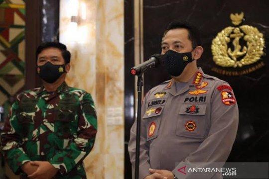 Panglima TNI dan Kapolri bertemu 10 bupati di daerah konflik Papua