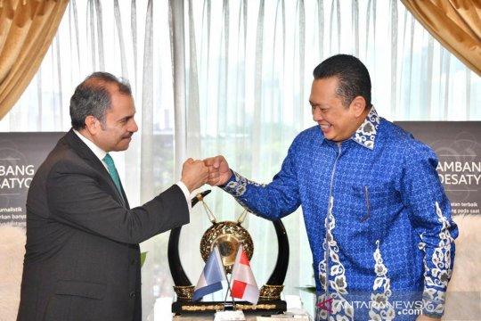 MPR dukung peningkatan kerja sama ekonomi Indonesia-Guatemala