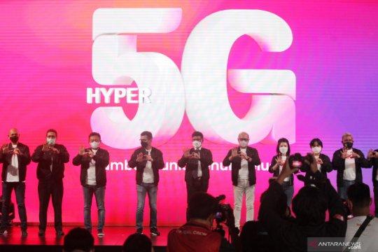 Telkomsel kembali luncurkan layanan 5G serentak di lima kota