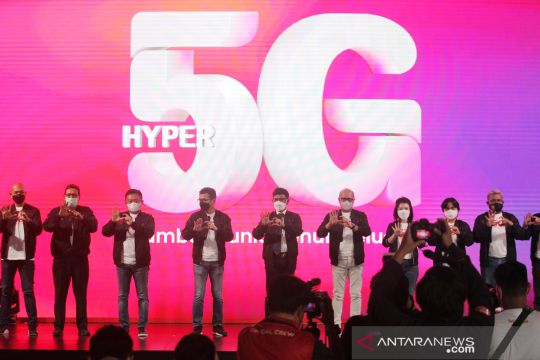 Peluncuran layanan 5G Telkomsel