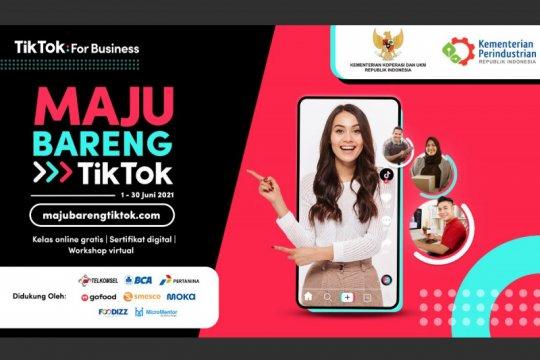 Maju Bareng TikTok dorong UKM digital lewat pelatihan