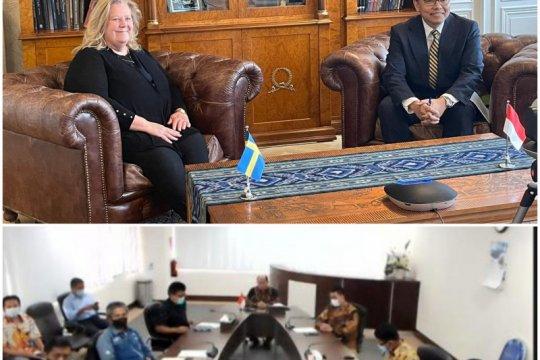 Indonesia-Swedia teken perjanjian kerja sama pemeliharaan kapal perang