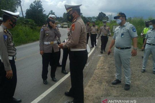 Kecelakaan maut Bus Sambodo di Jalintim akibat sopir ugal-ugalan