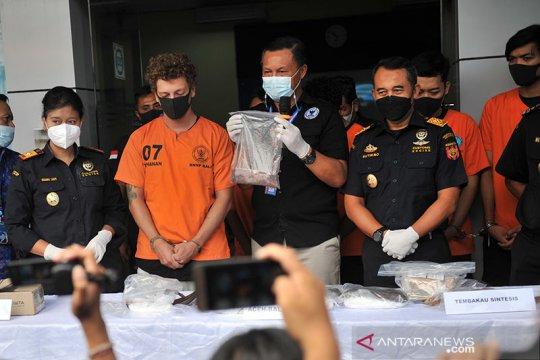 BNNP Bali menyita ratusan gram narkotika DMT dari turis asal Rusia