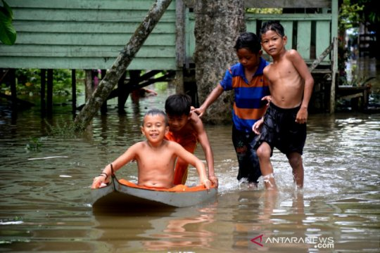 Jumlah terdampak banjir Sembakung naik jadi 2.151 jiwa