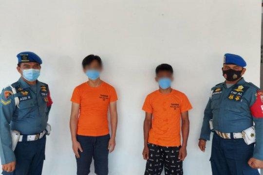Lanal Batam gagalkan penyelundupan baby lobster ke Singapura