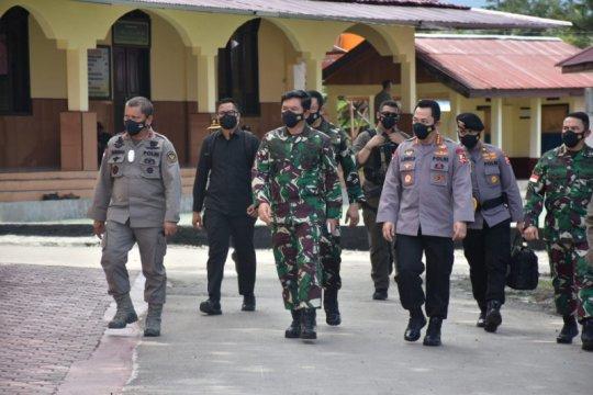 Pangdam XIII/Merdeka dampingi kunker Panglima TNI - Kapolri di Sulteng