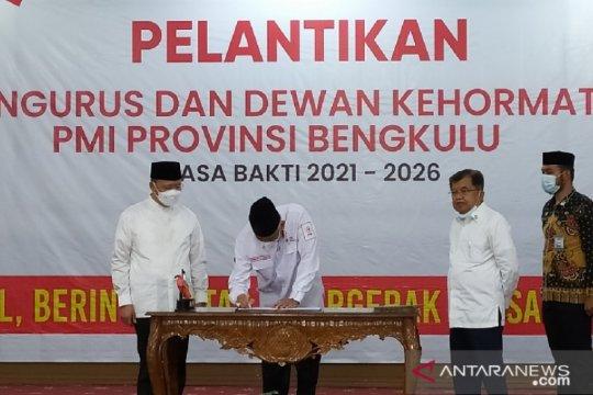 JK ingatkan relawan PMI Bengkulu bersiap hadapi bencana alam