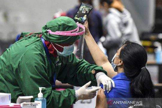 Vaksinasi COVID-19 di Indonesia capai 16.203.829 orang
