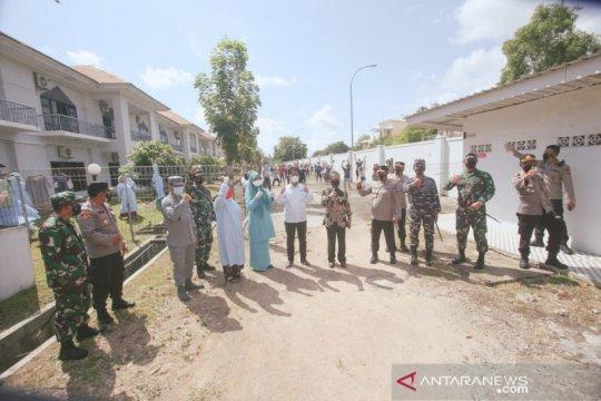 Dua gedung Asrama Haji Batam rawat pasien COVID-19 tanpa gejala