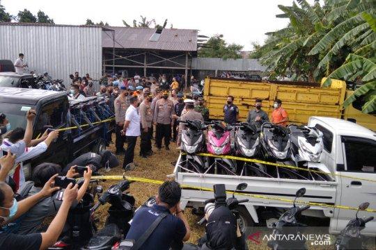 Polres Pati gagalkan ekspor 366 unit motor dan mobil ke Timor Leste