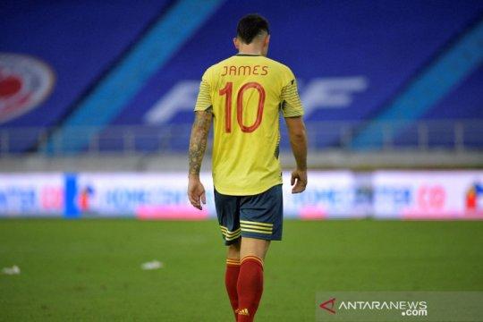 James Rodriguez absen bela Kolombia dalam Copa America 2021