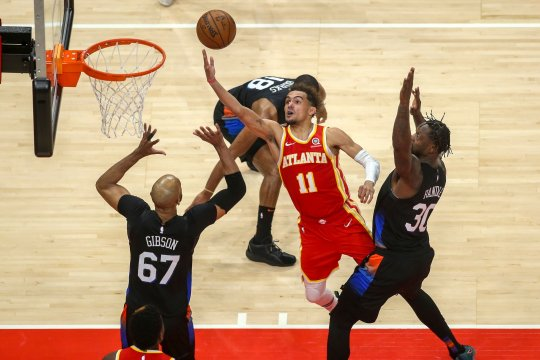 Hawks petik kemenangan 105-94 atas Knicks