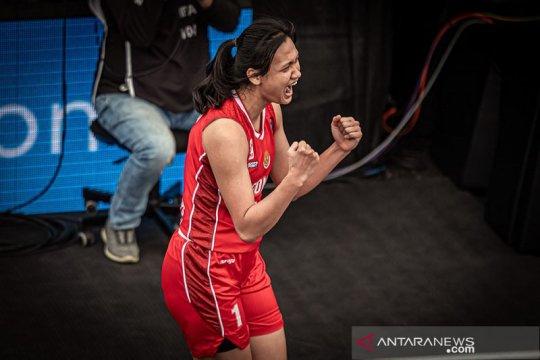 3x3 putri Indonesia tundukkan Uruguay 22-15 di kualifikasi Olimpiade