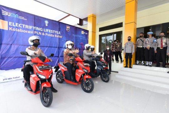 PLN siapkan 82 stasiun pengisian kendaraan listrik di Bangka Belitung