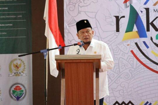 Ketua DPD sampaikan pentingnya mewujudkan desa berdaulat